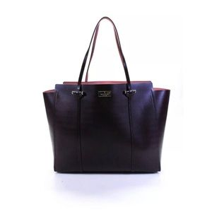 Kate Spade ♠️ Annelle arbour hill tote purple NWT